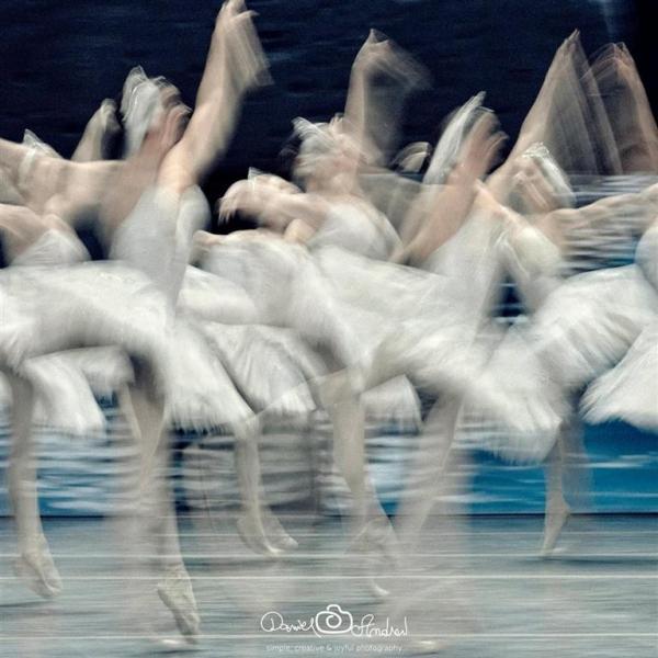 fotografia de balet
